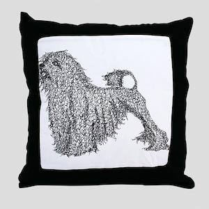 Lowchen Throw Pillow