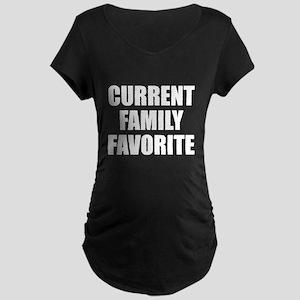 Current Family Favorite Maternity Dark T-Shirt
