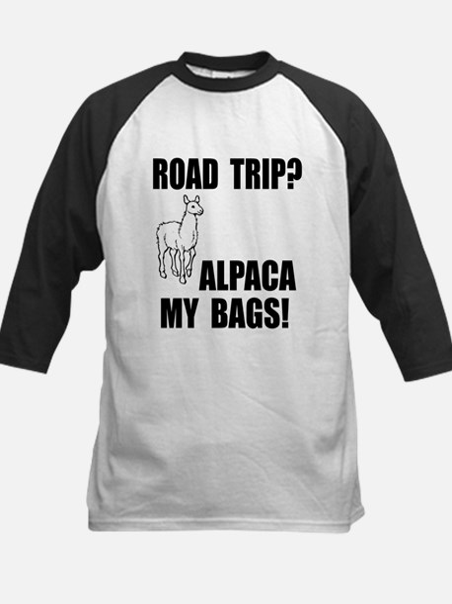Alpaca My Bags! Kids Baseball Jersey