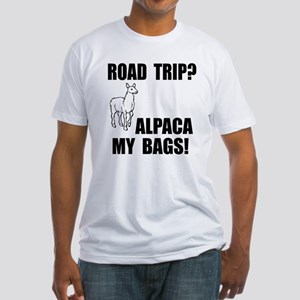 Alpaca My Bags! Fitted T-Shirt