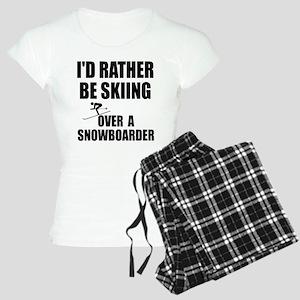 I'd rather be skiing Women's Light Pajamas