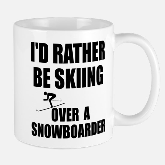 I'd rather be skiing Mug