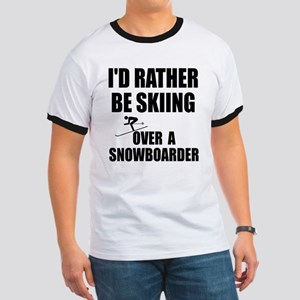 I'd rather be skiing Ringer T