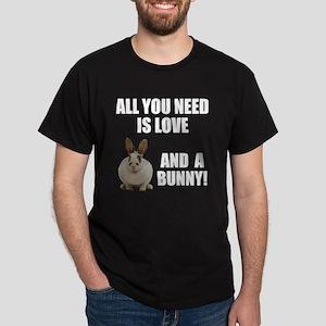 Love and a bunny Dark T-Shirt