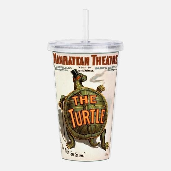 The Turtle Acrylic Double-wall Tumbler