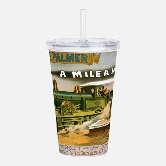 Mile a Minute Acrylic Double-wall Tumbler