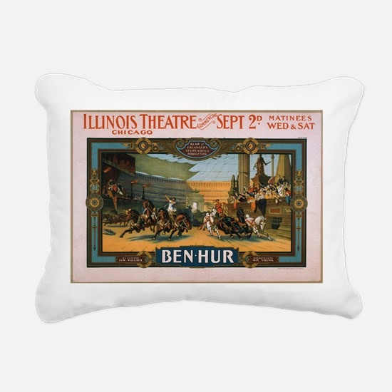 Ben Hur 1901 Rectangular Canvas Pillow