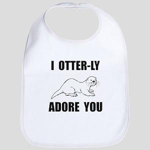 Otterly Adore You Bib