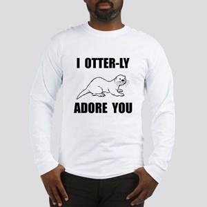 Otterly Adore You Long Sleeve T-Shirt