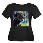 Cane Corso Painting Plus Size T-Shirt
