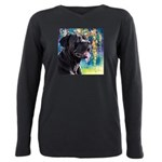 Cane Corso Painting Plus Size Long Sleeve Tee
