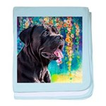 Cane Corso Painting baby blanket