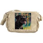 Cane Corso Painting Messenger Bag