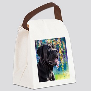 Cane Corso Painting Canvas Lunch Bag