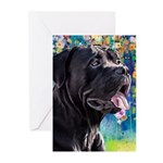 Cane Corso Painting Greeting Cards