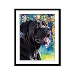 Cane Corso Painting Framed Panel Print