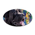 Cane Corso Painting Wall Decal