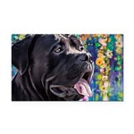 Cane Corso Painting Rectangle Car Magnet