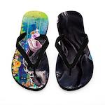 Cane Corso Painting Flip Flops