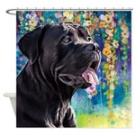Cane Corso Painting Shower Curtain