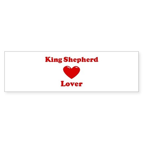 King Shepherd Lover Bumper Sticker