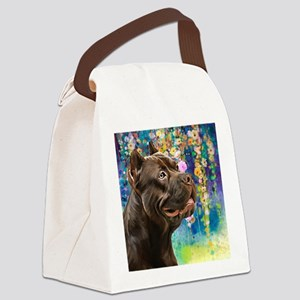 American Staffordshire Terrier Painting Canvas Lun