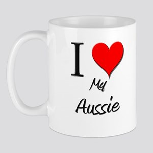 I Love My Aussie Mug