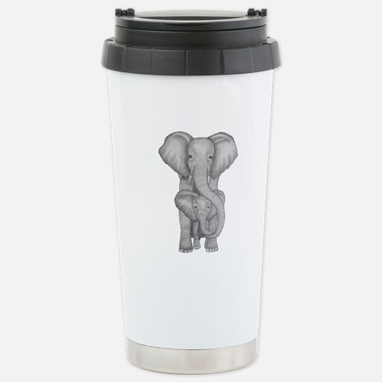 Elephant mother and child Mugs