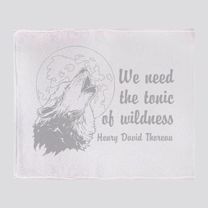 Wild Tonic Throw Blanket