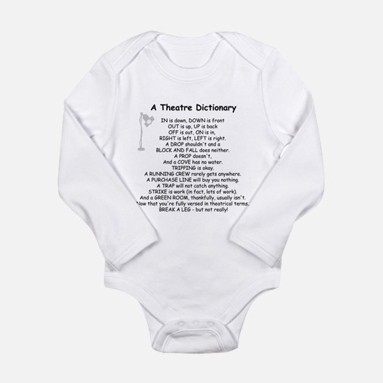 Theatre Dictionary Body Suit