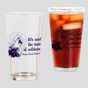 Wild Tonic Drinking Glass
