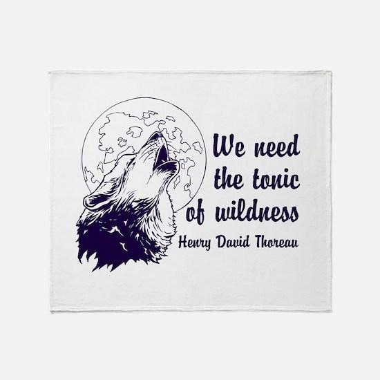 Wild Tonic Throw Blanket