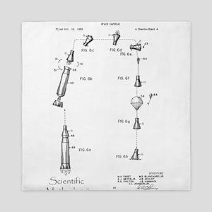 Space Capsule Patent 3093346 Queen Duvet