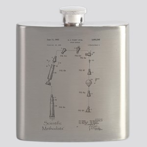 Space Capsule Patent 3093346 Flask