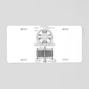 Tesla Motor patent 382279 Aluminum License Plate