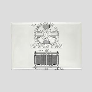 Tesla Motor patent 382279 Magnets