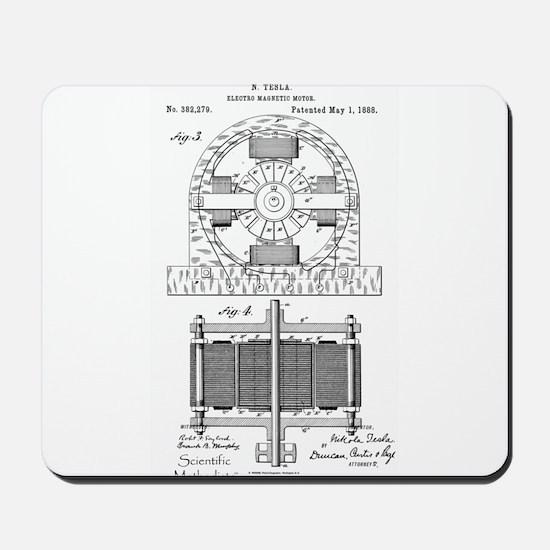 Tesla Motor patent 382279 Mousepad