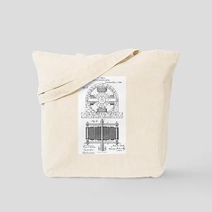 Tesla Motor patent 382279 Tote Bag