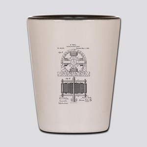 Tesla Motor patent 382279 Shot Glass