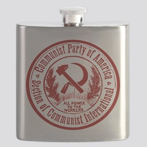 Communist Party of America Flask