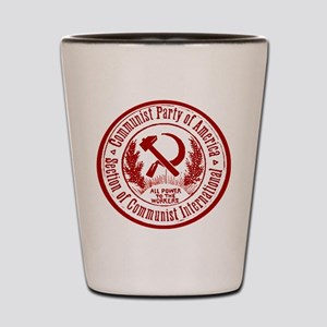 Communist Party of America Shot Glass