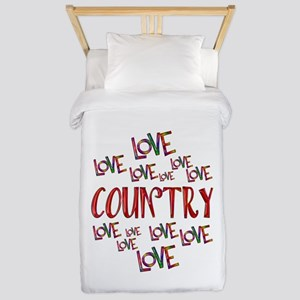 Love Love Country Twin Duvet