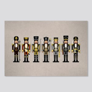 Nutcrackers in Bear Color Postcards (Package of 8)