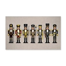 Nutcrackers in Bear Colors Wall Decal
