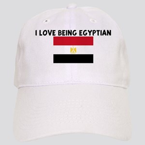 I LOVE BEING EGYPTIAN Cap