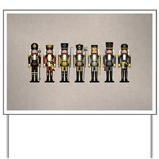 Nutcrackers in Bear Colors Yard Sign