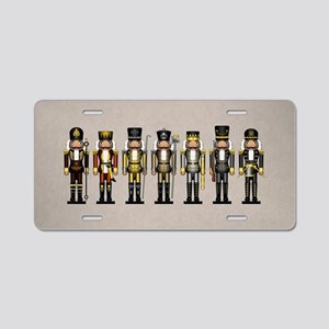 Nutcrackers in Bear Colors Aluminum License Plate