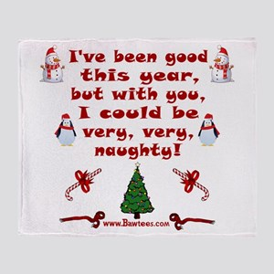 i have been good but Throw Blanket