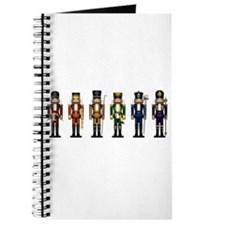 Nutcrackers in Rainbow Colors Journal