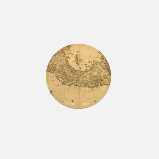 Vintage Map of Panama (1800) Mini Button
